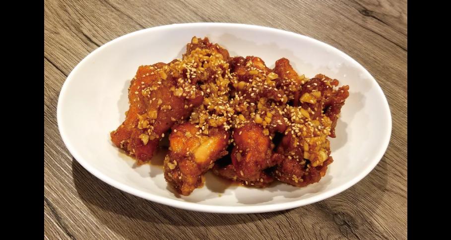 韓国ガーリック醬油チキン