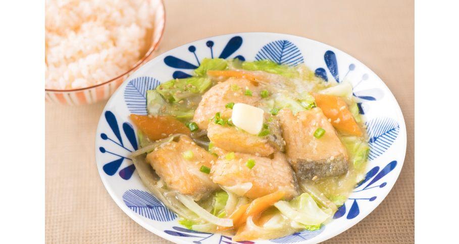 鮭のちゃんちゃん焼きごはん(北海道)