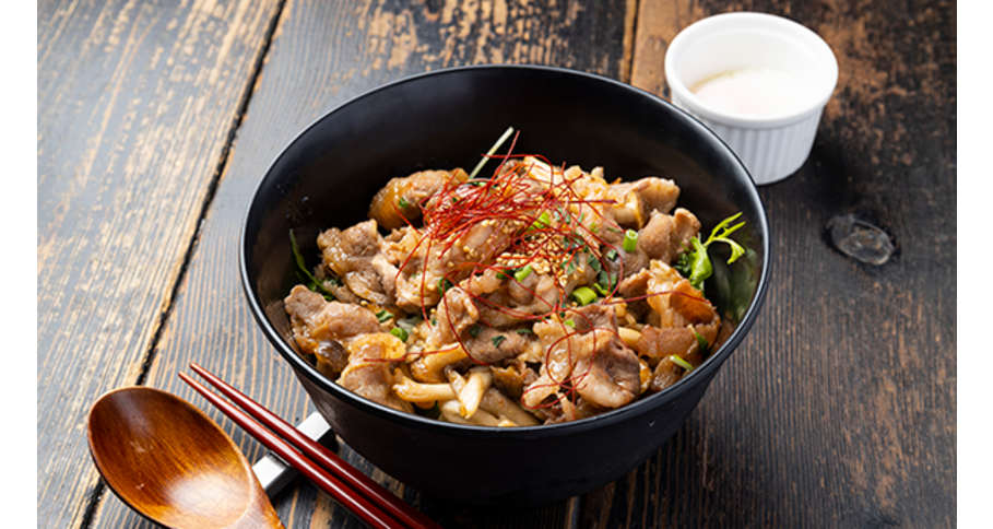 牛カルビ丼(温玉付き)