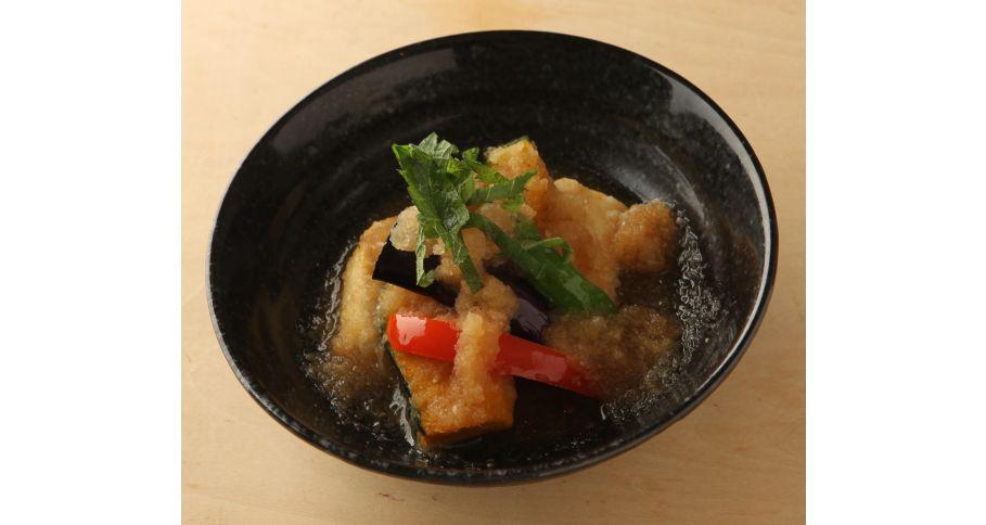 旬魚と野菜の煮おろし