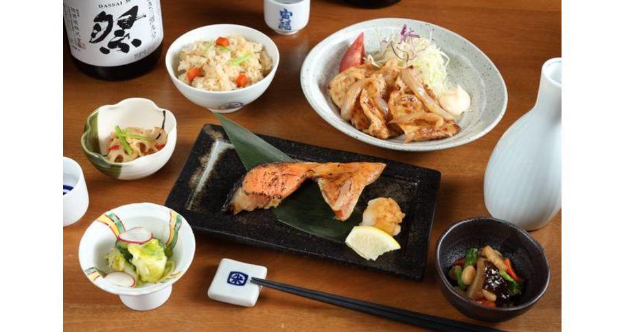 生姜焼き&焼き魚弁当