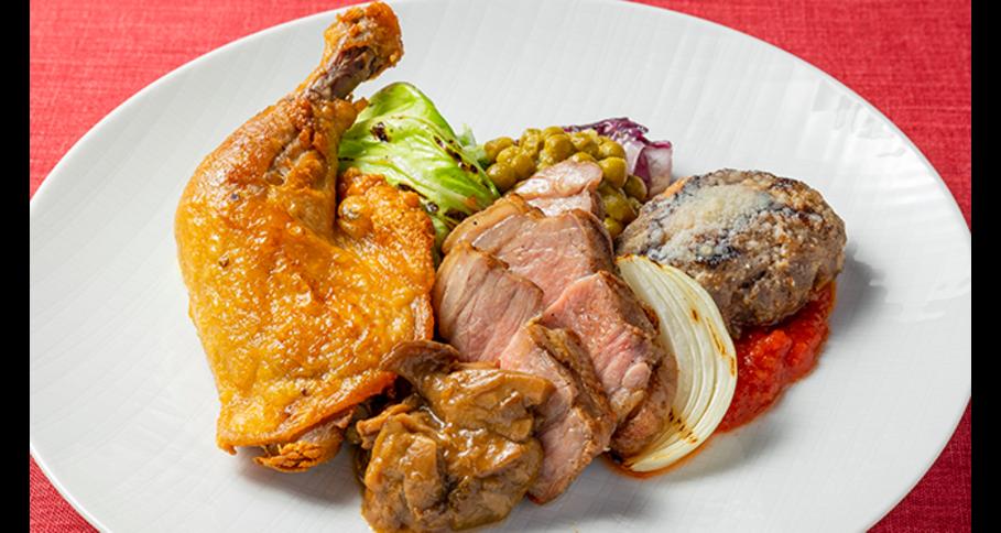 カルネミスト 豪華3種の肉料理の盛り合わせ