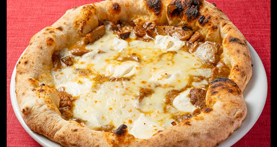 茸の王様 ポルチーニ茸のピッツァ