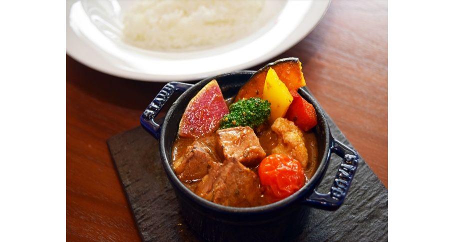 【平日限定】牛バラ肉と彩り野菜のスープカレー※前日16:00までのご注文