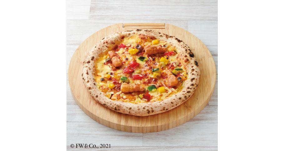 マグレガーさんの野菜畑ピザ