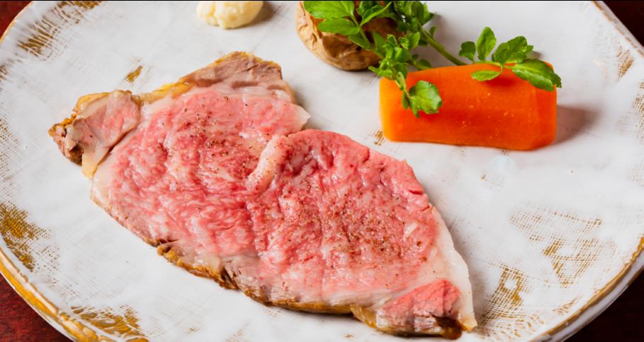 黒毛和牛ロース肉のローストビーフ 120g