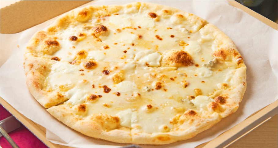 5種チーズのピッツァ 『チンクエ フォルマッジ』