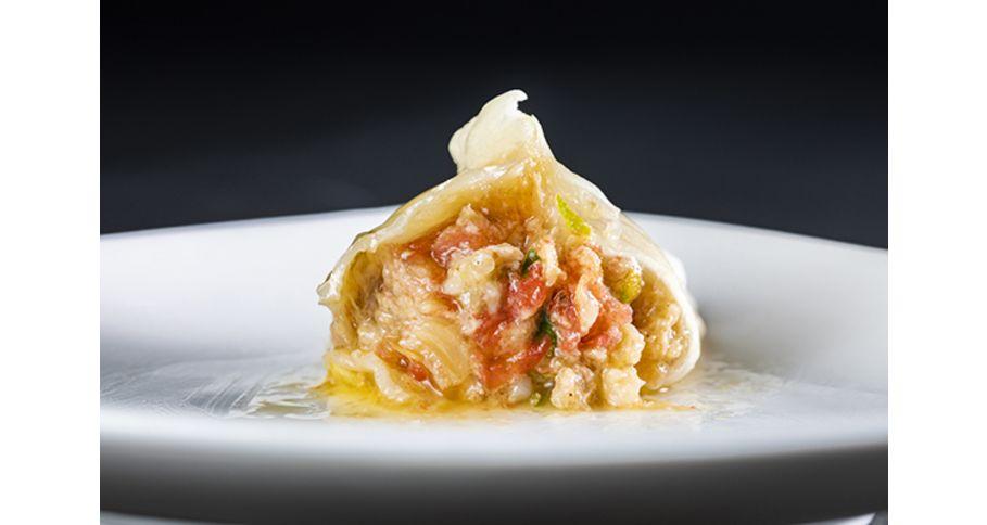トマト餃子(5個入り)