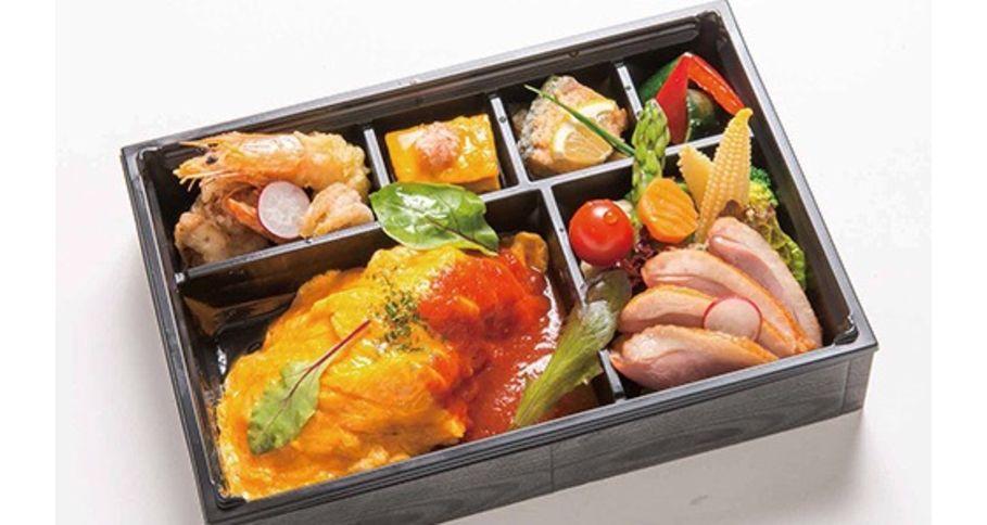 【O7】オムライスチキントマトソース&鴨肉御膳