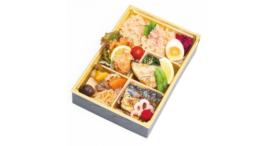 【B10】季(とき)特製五ます 炊き込みご飯弁当