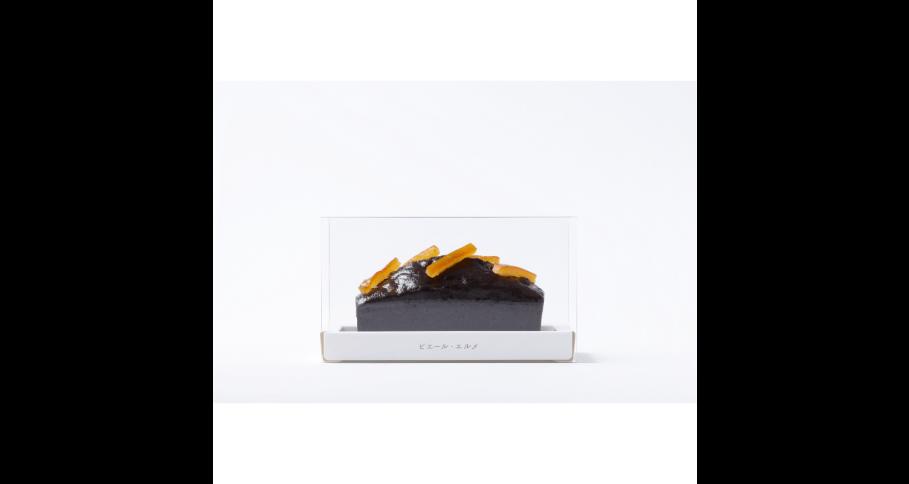 チョコレート&オレンジの パウンドケーキ