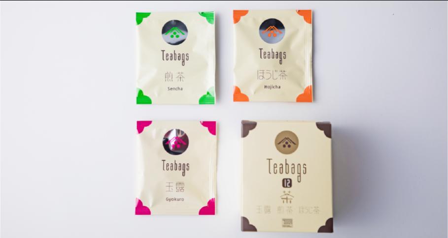 ティーバッグセット12(玉露・煎茶・ほうじ茶)