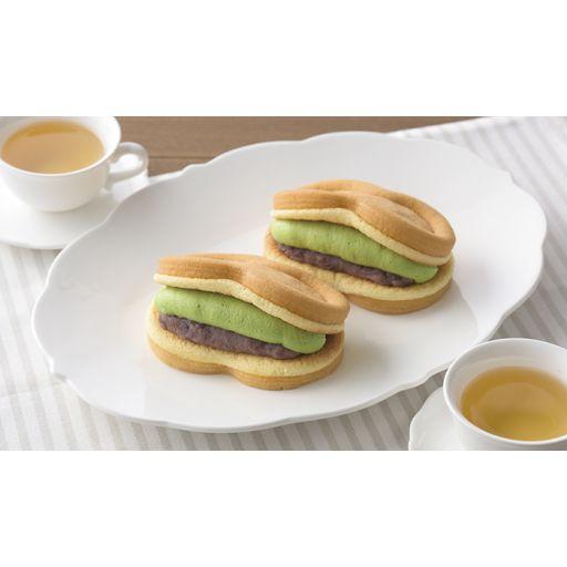 スフレワッフル(宇治抹茶&おぐら)-0