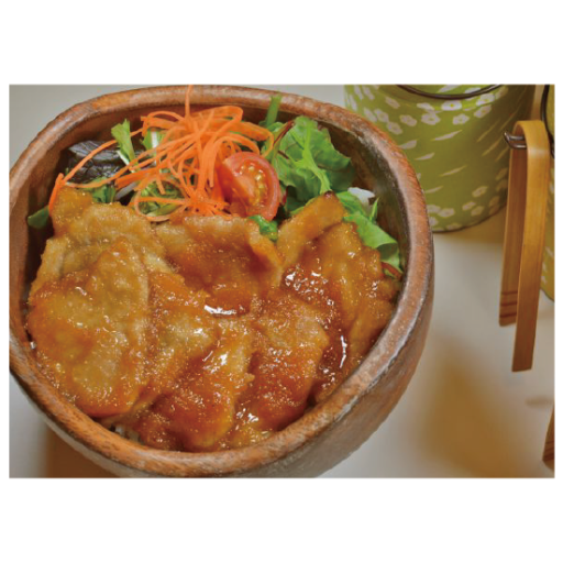 こめらく/豚の生姜焼きボウル-0