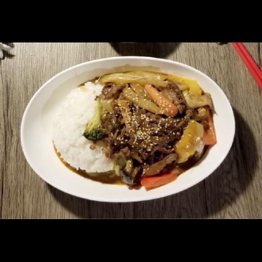 テリヤキ丼(激辛)-0