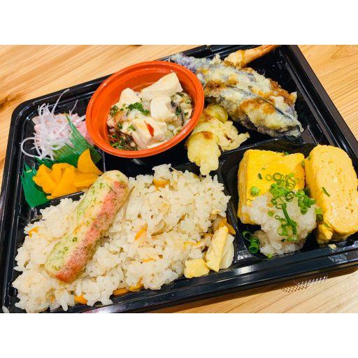 まるきん特製幕の内弁当(味噌汁付き)-0
