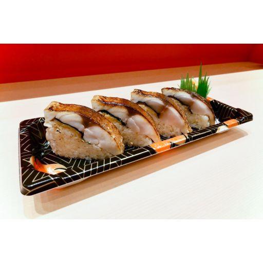 炙りトロ鯖寿司-0