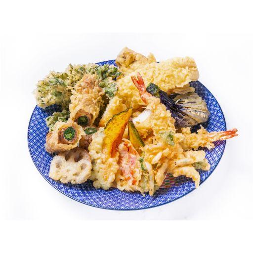 天ぷら盛り合わせ10種-0