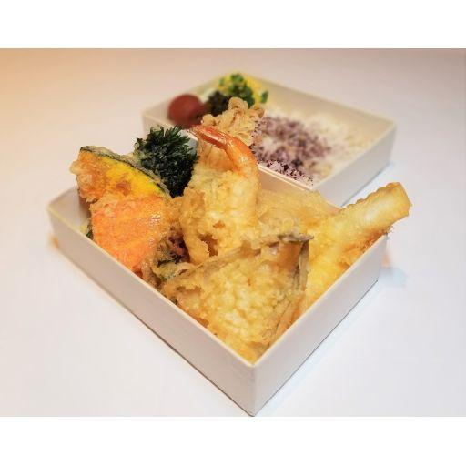 贅沢魚介とお野菜天丼-0