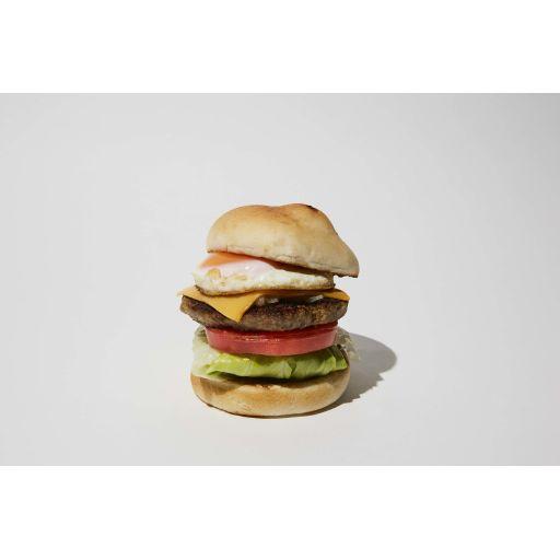 フライドエッグ チーズバーガー-0