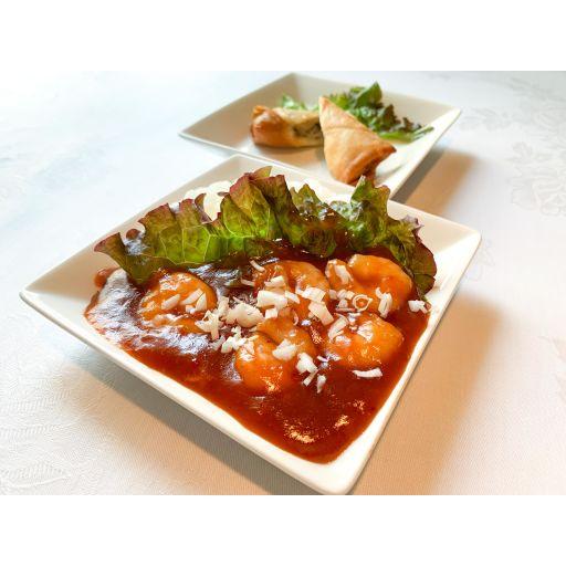 エビチリ丼+春巻セット-0