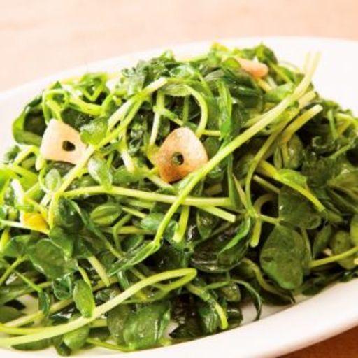 季節の青菜炒め-0