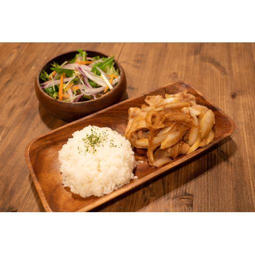 豚の生姜焼き定食-1
