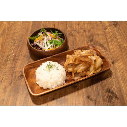 豚の生姜焼き定食-0