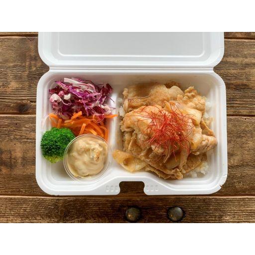 生姜焼き&奈良漬けタルタル-0