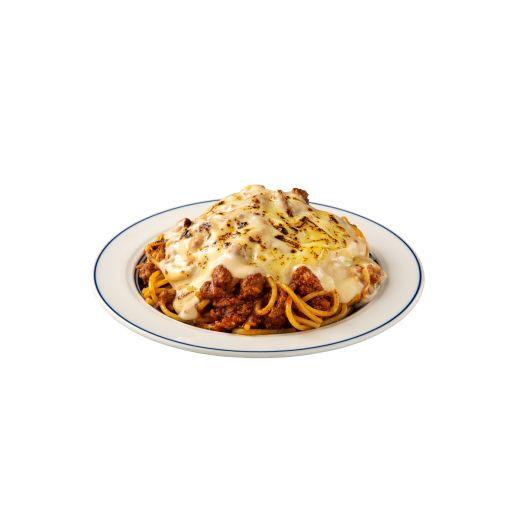 チーズたっぷりラザニア風スパゲティ-0