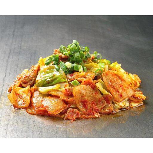 嬬恋キャベツと那須高原豚の旨辛豚キムチ炒め-0