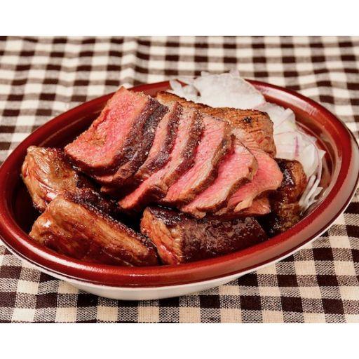 Party用塊肉ステーキ450g(オニスラ付)-0