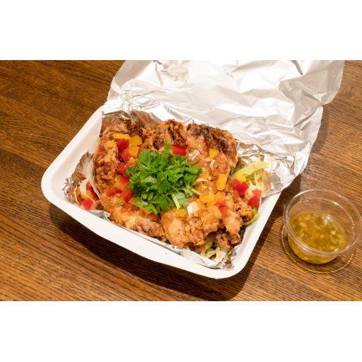 油淋鶏 中華風にんにくソース-0
