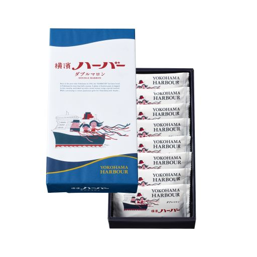 横浜ハーバーダブルマロン8個-0