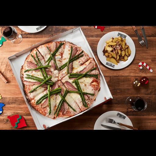 SPONTINIクリスマス限定ピザとアラカルトセット-0