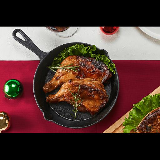 【千駄木腰塚横濱精肉店クリスマス限定】クリスマスローストチキンと贅沢キッシュのオードブルセット-1