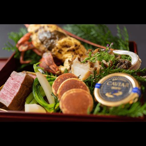 横浜ベイシェラトン ホテル&タワーズ 鉄板焼「さがみ」さがみ特製 オードブルBOX-1