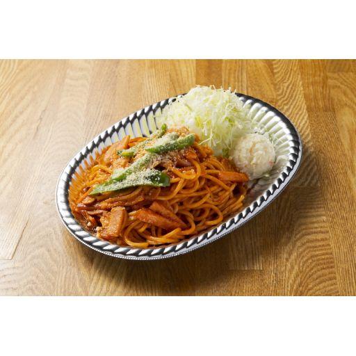 太麺パスタのナポリタン-0