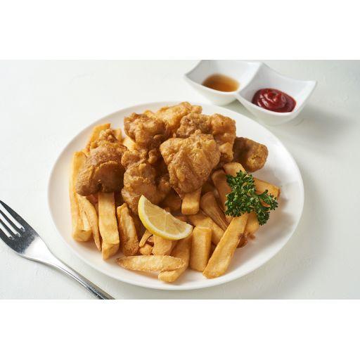 チキンセット&チップス-0
