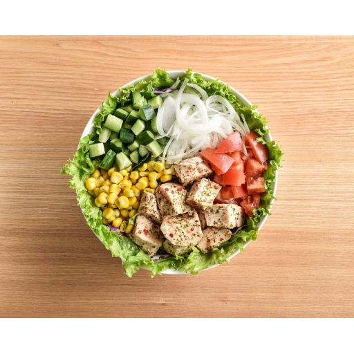 ハーブチキンと彩り野菜のサラダ-0
