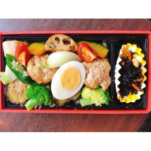 【平日ランチ限定】お野菜たっぷり豆腐ハンバーグ弁当-0