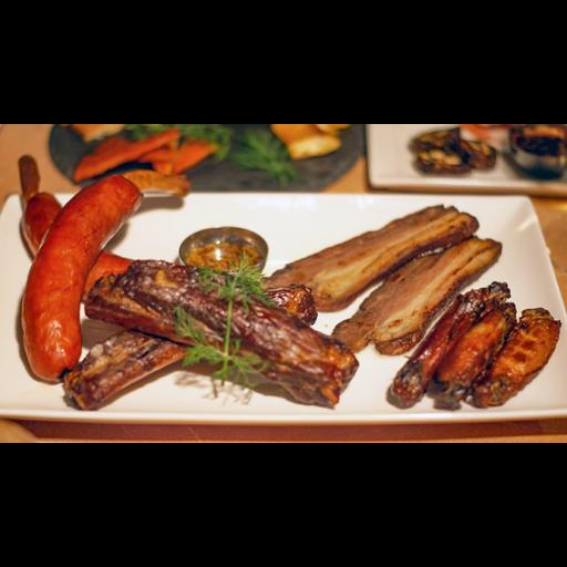 燻製肉盛り合わせ(4種)-0