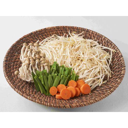 もやしのうま鍋セットのお野菜(3名様分)-0