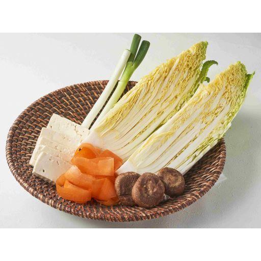 はくさいのうま鍋セットのお野菜(3名様分)-0