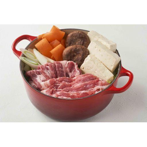 しゃぶしゃぶセットのお肉とスープ(2名様分)-2