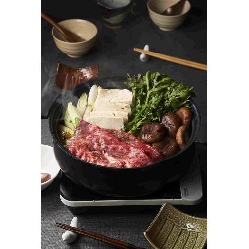 すき焼きセットのお肉とスープ(2名様分)-3