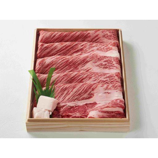 すき焼きセットのお肉とスープ(2名様分)-0