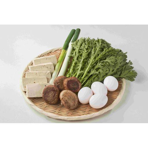すき焼きセットのお野菜(2名様分)-0