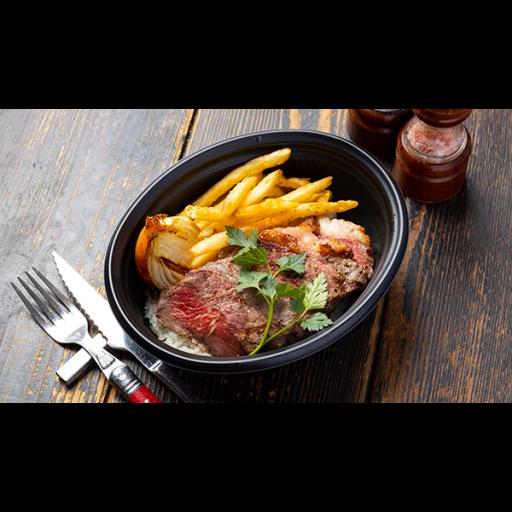 サーロインステーキ丼-1