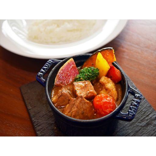 【平日限定】牛バラ肉と彩り野菜のスープカレー※前日16:00までのご注文-0